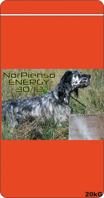 Pienso alta energía, muy compensado para todo tipo de perros y todas las épocas de actividad. 20kg en pollo
