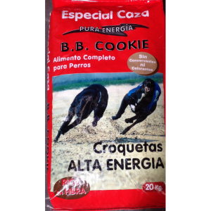 Pienso caza alta energía perros b b cookie