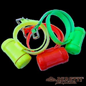 Diferentes colores de collares beretti beeper