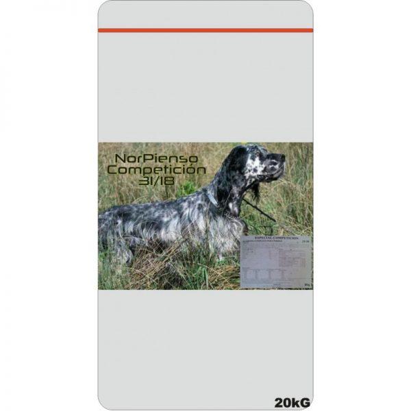 Pienso competición alta energía para perros de caza, la mejor relación calidad precio