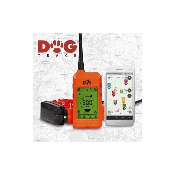 Equipo localizador GP y adiestramiento con mando Dogtrace X30T