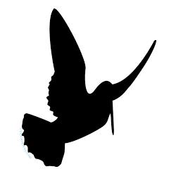 pegatina de becada o arcea alzando el vuelo