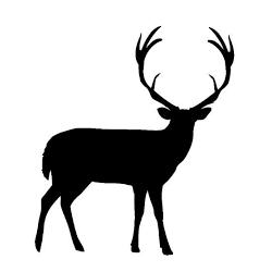 pegatina de ciervo o venado