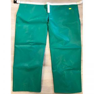 Zahones de lona verdes, ultra resistentes fabricados a mano